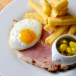 Ham & Eggs Recipe With Chips & Piccalilli – Great British …