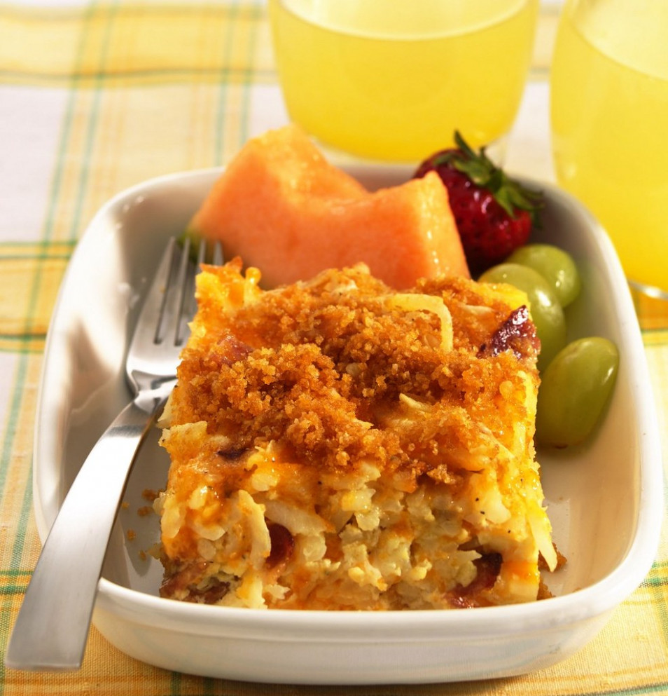 Hash Brown Potato Bake Recipe