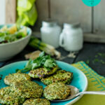 HCG Diet Recipe | Spinach & Chicken Patties W/ Fresh Herbs | SP + AP