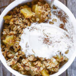 Healthy Apple Crisp – Healthier Steps
