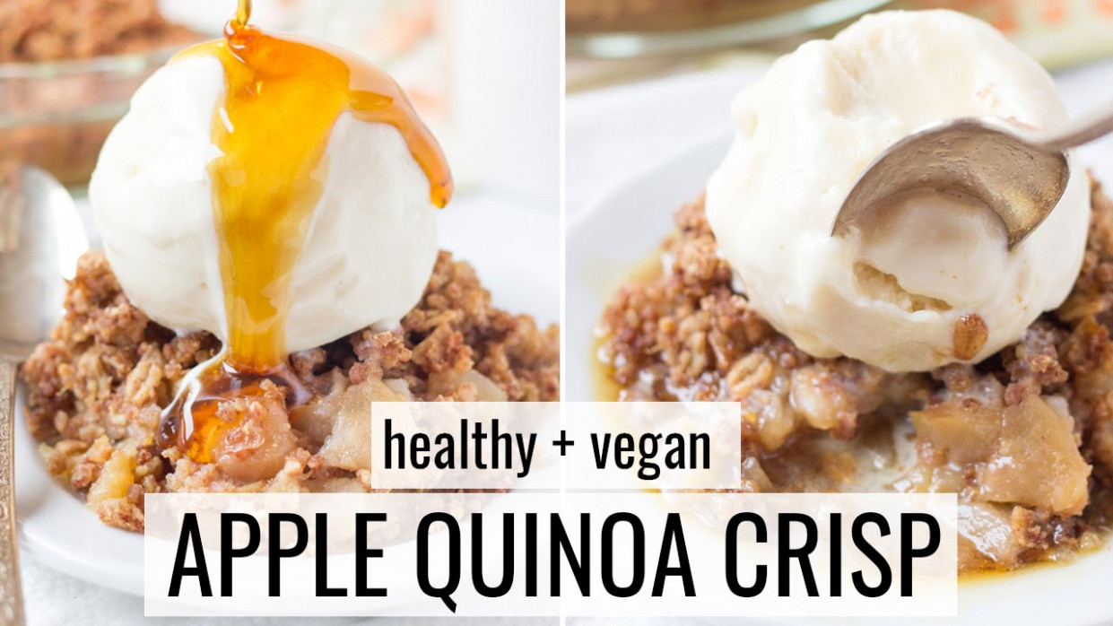 Healthy Apple Crisp Recipe - Healthy Dessert Ideas - YouTube