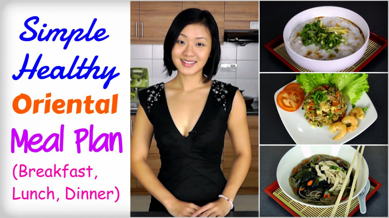 Healthy Asian Meal Plan To Lose Weight (Breakfast, Lunch …