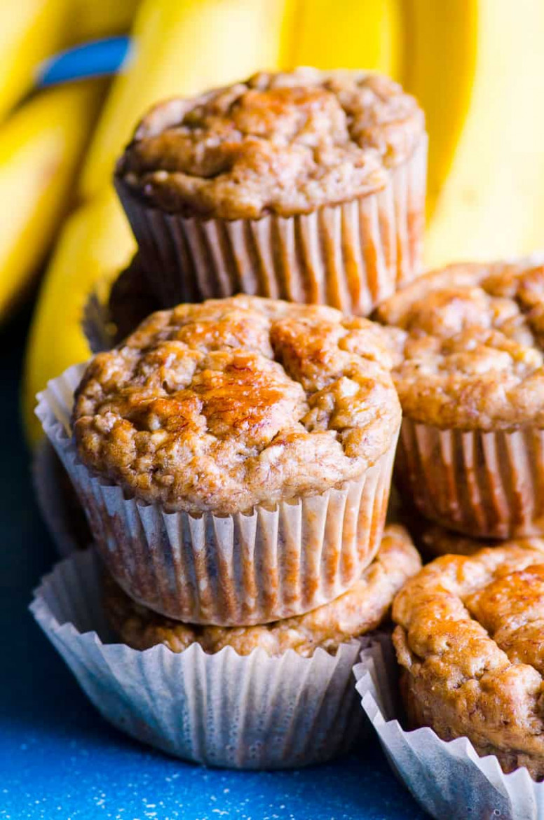 Healthy Banana Muffins (Video) (8 Star Reviews from Families ...