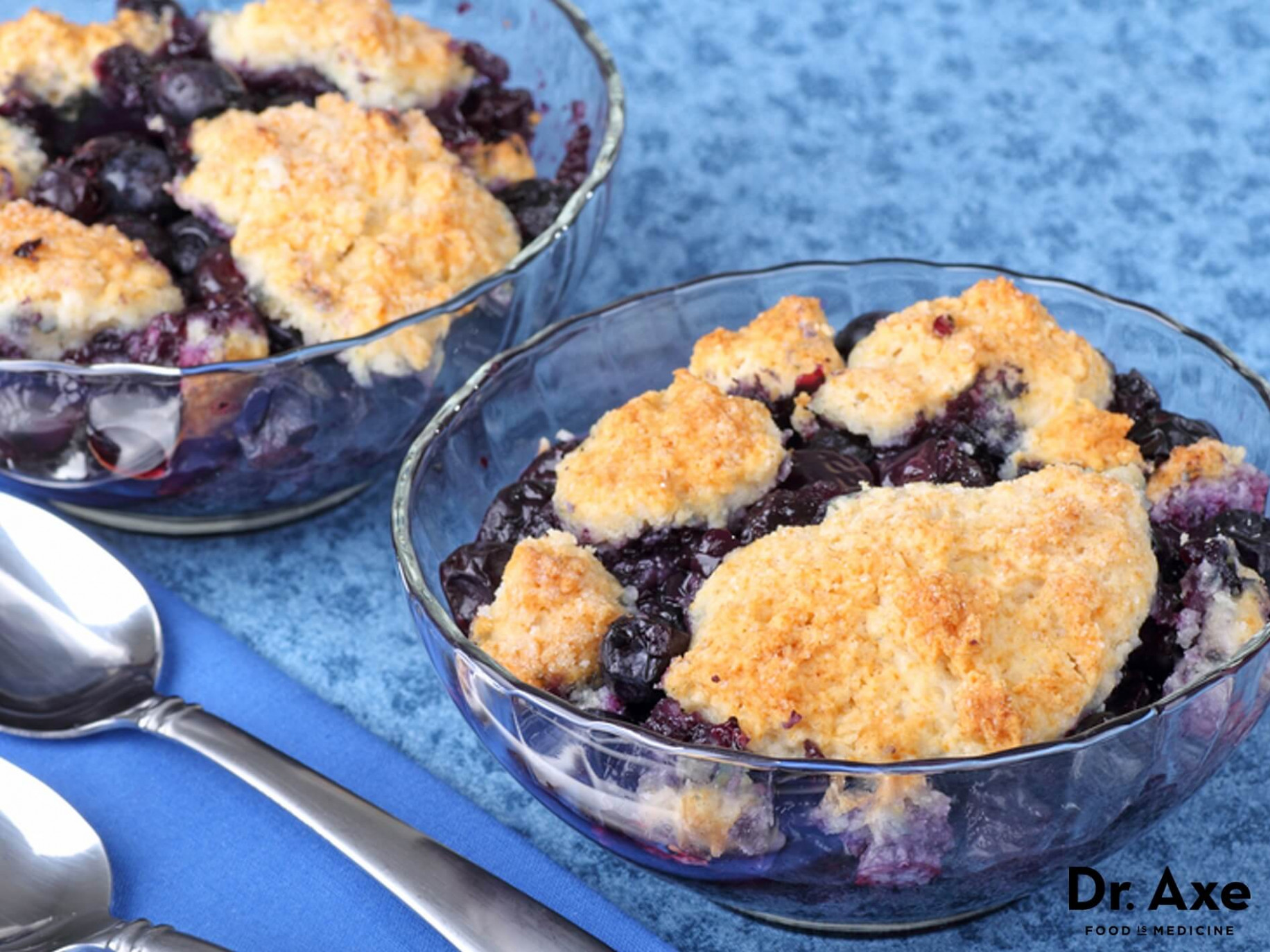 Healthy Blueberry Cobbler Recipe - Dr