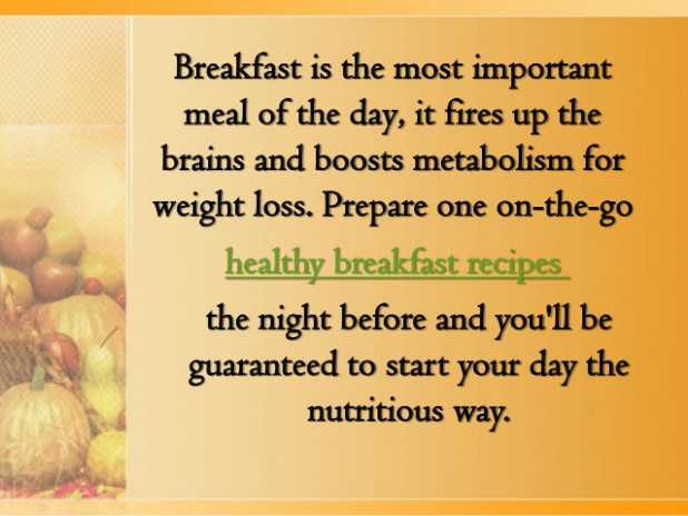 Healthy Breakfast Recipes You can Make the Night Before