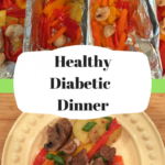 Healthy Camping Dinner – Diabetic One Pan Dinner