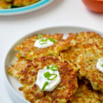 Healthy Cauliflower Fritters