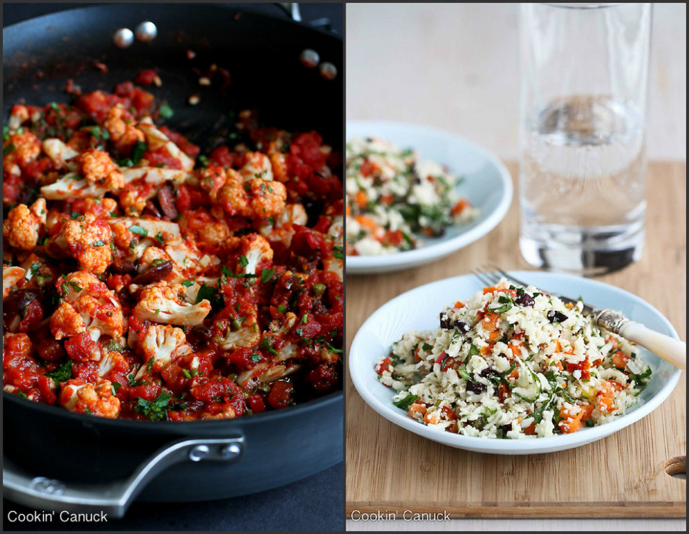 Healthy Cauliflower Recipes | cookincanuck