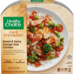 Healthy Choice Cafe Steamers Frozen Dinner, Sweet and Spicy Orange Zest  Chicken, 9.9 Ounce