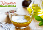 Healthy Cooking Tips Homemade Salad Dressings Recipe