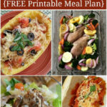Healthy Dinner Menu Plan - 30 Quick and Easy Recipes