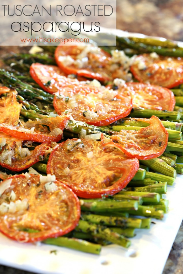 Healthy Easy Dinner Recipes: Tuscan Roasted Asparagus | It ...