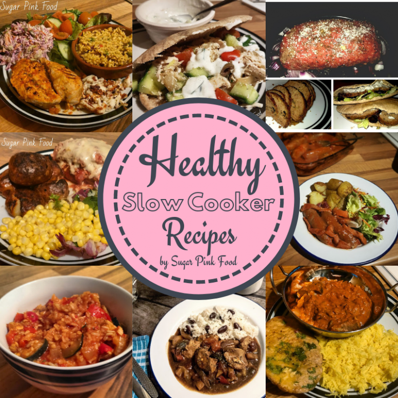 Healthy, Easy, Slow Cooker Recipes - Sugar Pink Food