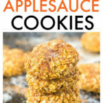 Healthy Four Ingredient Applesauce Cookies  Soft And Chewy …