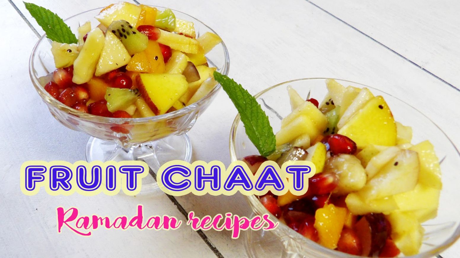 Healthy Fruit Chaat | Ramadan Recipes | Hungry for Goodies
