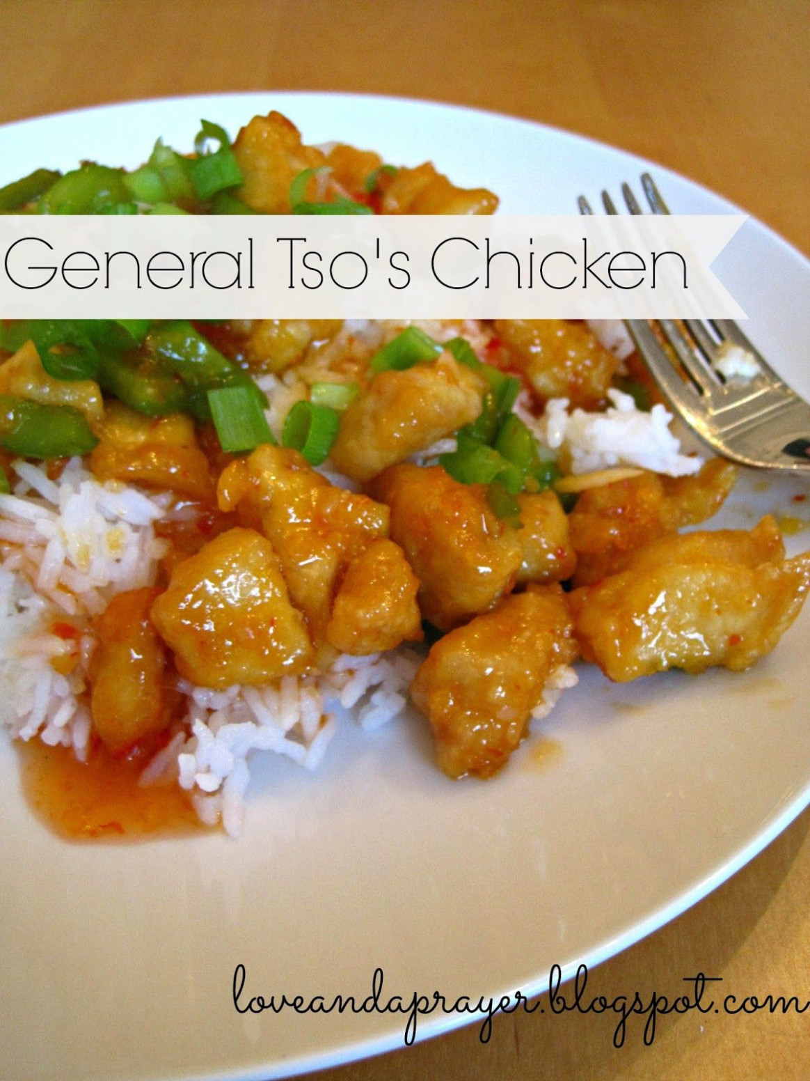 healthy General Tso's Chicken recipe, homemade chinese ...