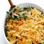 Healthy Green Bean Casserole | Gimme Some Oven