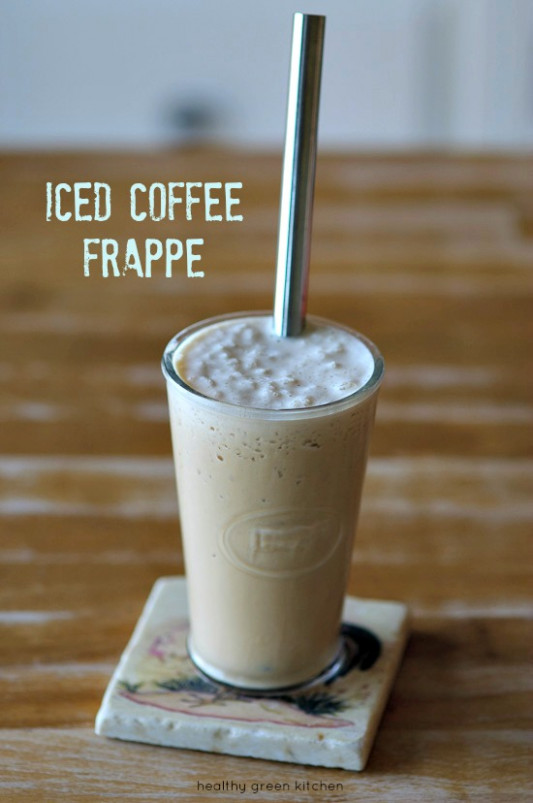 Healthy Green Kitchen Iced Coffee Frappe - Healthy Green ...