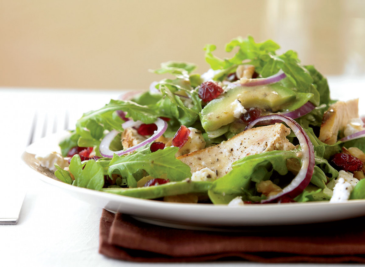 Healthy Grilled Chicken Salad With Avocado Recipe – Health & Fit