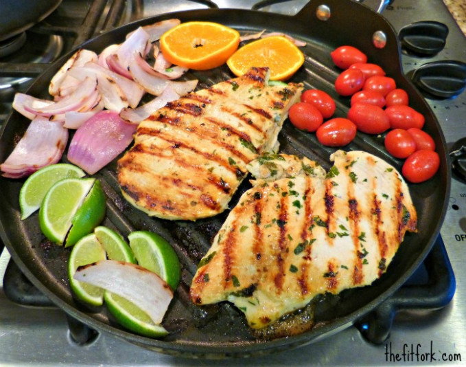 Healthy Grilling | Mojo Chicken Breast with Citrus Recipe ...