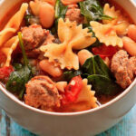 Healthy Italian Winter Soup With Turkey Sausage – Wishful Chef