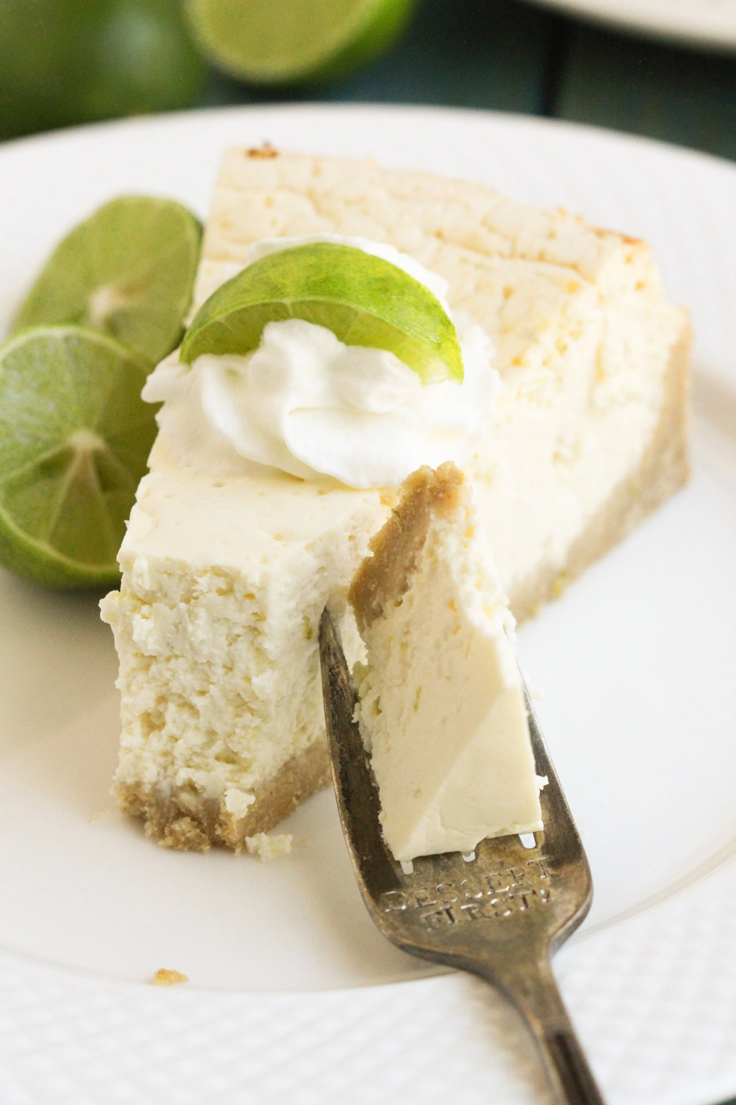 Healthy Key Lime Cheesecake (Gluten Free)   Desserts With ...