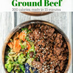 Healthy Korean Ground Beef With Vegetables | Recipe …