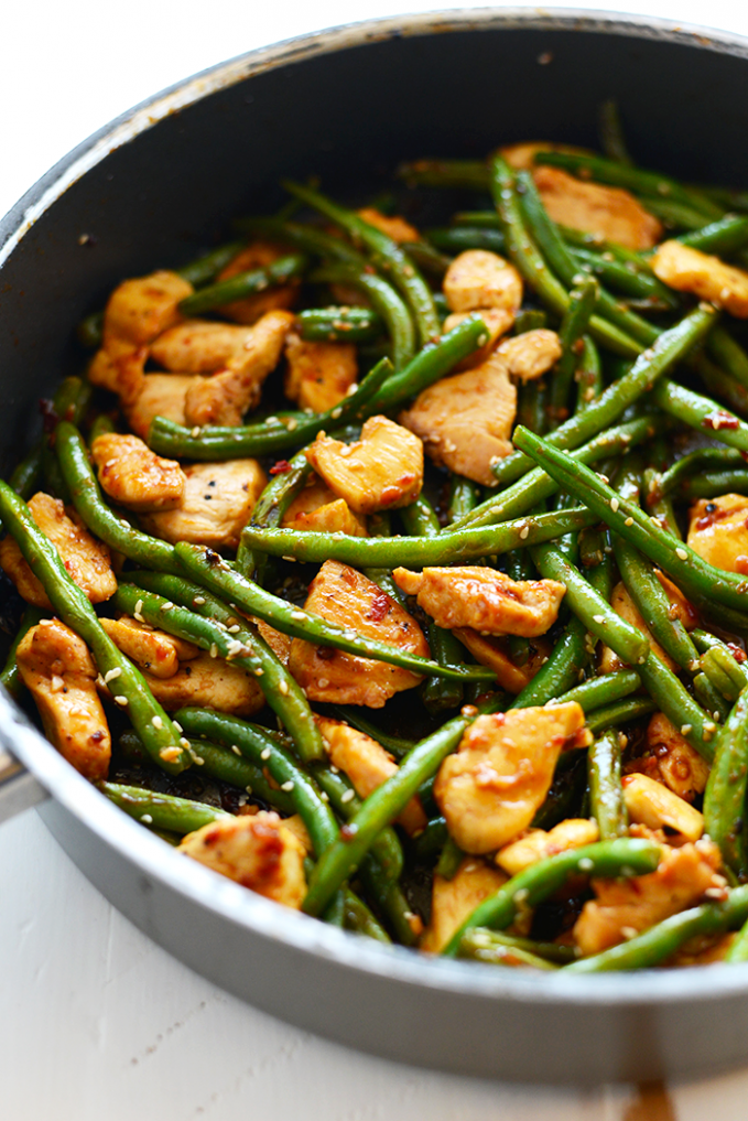 Healthy Kung Pao Chicken - Fit Foodie Finds