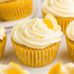 Healthy Lemon Cupcakes With Lemon Frosting | Amy's Healthy …