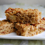 Healthy Maple Syrup Flapjacks