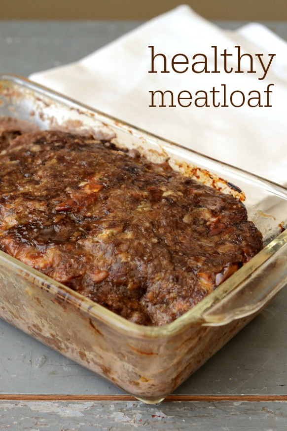 Healthy Meatloaf Recipe - Real Food Real Deals
