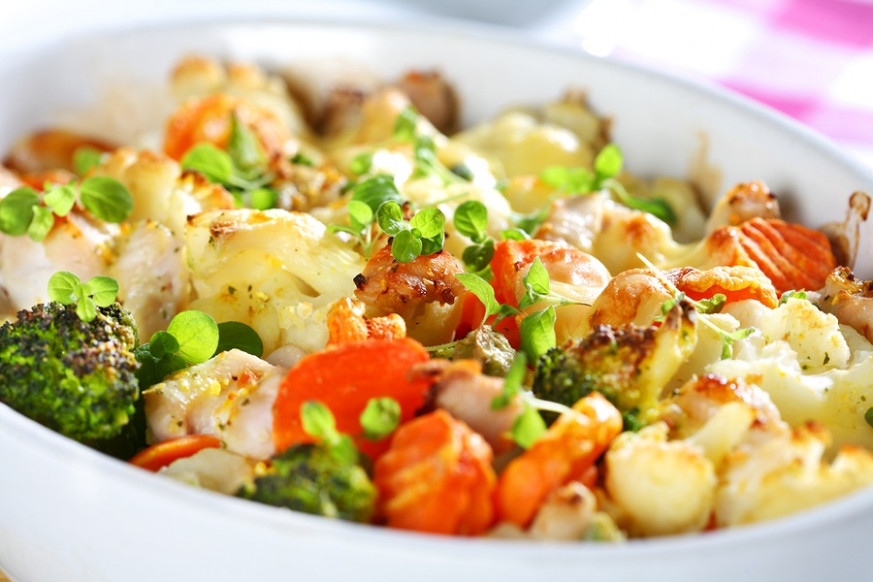 healthy mixed vegetable casserole