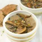 HEALTHY MUSHROOM SOUP (NO CREAM) – The Clever Meal