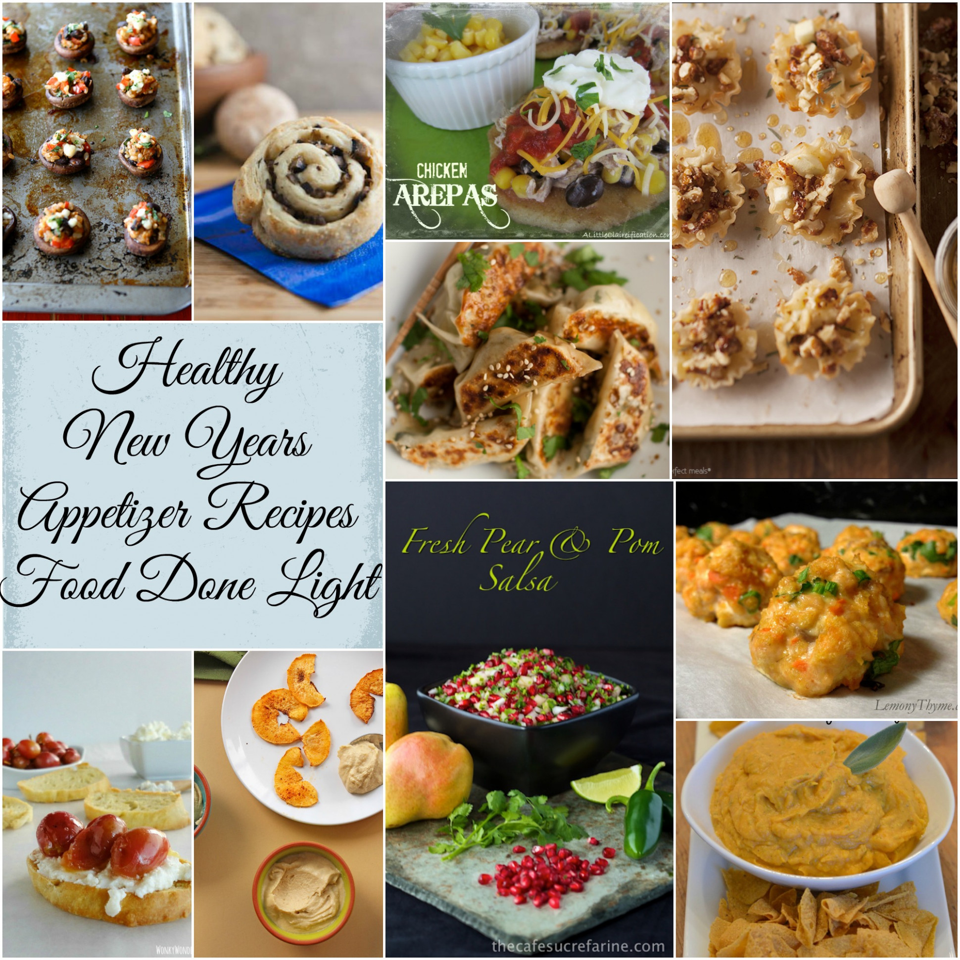 Healthy New Years Appetizers & Small Bites Recipes | Food ...