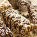 Healthy No Bake Chocolate Peanut Butter Granola Bars