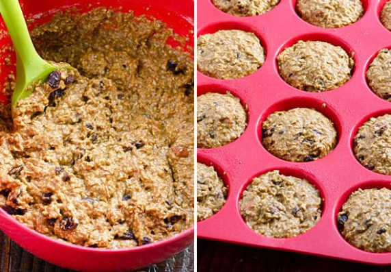Healthy Oat Bran Muffins - iFOODreal - Healthy Family Recipes