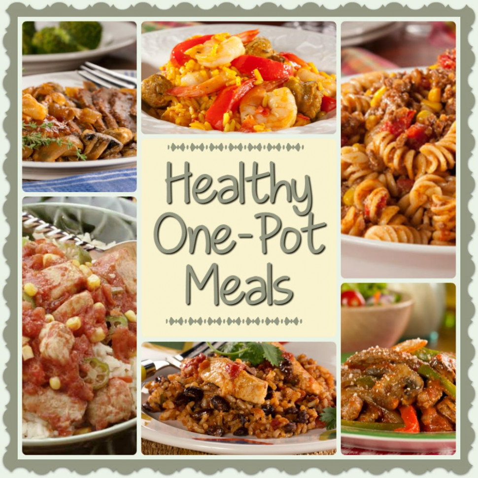 Healthy One-Pot Meals: 6 Easy Diabetic Dinner Recipes ...