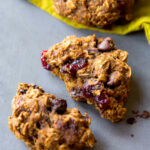 Healthy Pumpkin Chocolate Chip Oatmeal Cookies | Sally's …