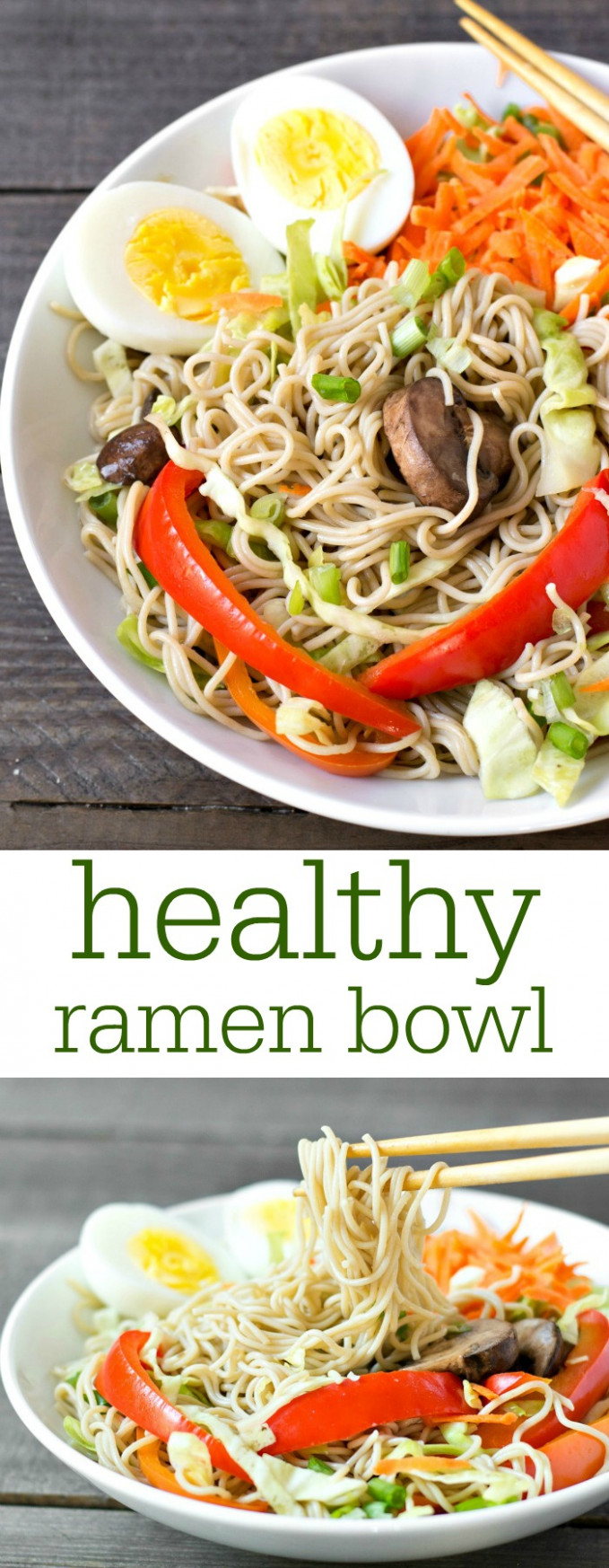 Healthy Ramen Bowl Recipe - Real Food Real Deals