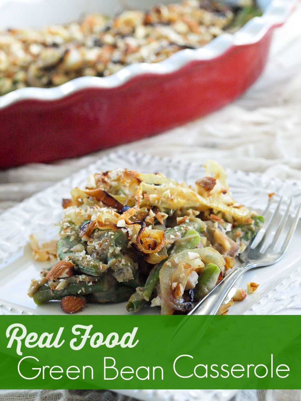 Healthy Recipe Makeover: Green Bean Casserole {vegan and ...