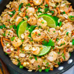 Healthy Shrimp Pad Thai | Well Plated by Erin