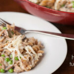 Healthy Skillet Tuna Casserole Recipe | Self Proclaimed Foodie