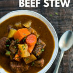 Healthy Slow Cooker Beef Stew – Perfect Make Ahead Dinner …