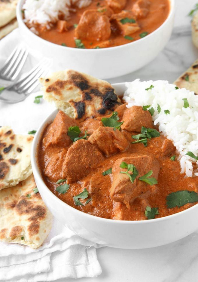 Healthy Slow Cooker Indian Butter Chicken ...