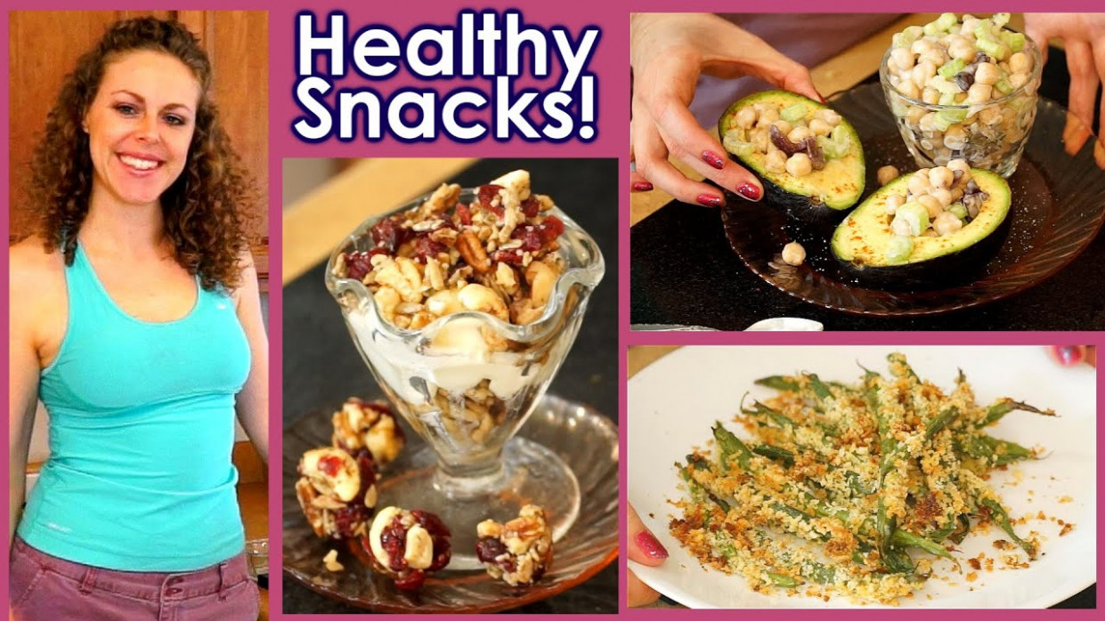 Healthy Snacks & Weight Loss Tips!! 5 Snack Recipes, High ...