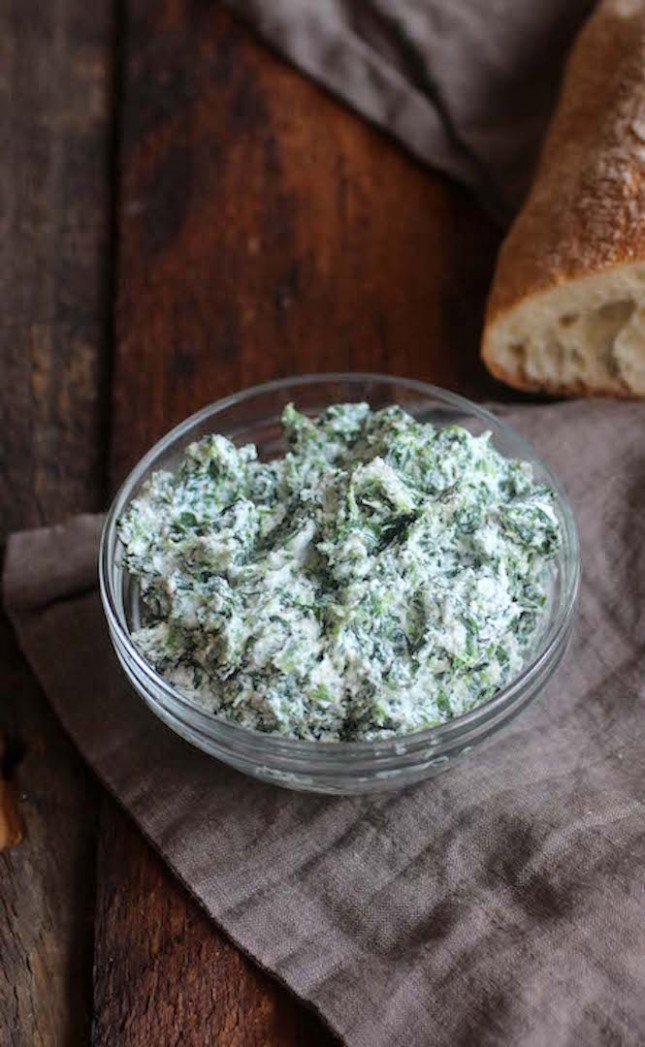 Healthy Spinach and Ricotta Cheese Spread   Susan's Table ...