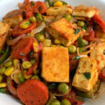 Healthy Tofu With Stir Fried Vegetables | Weight Loss Recipe | Diet Recipe  | Vegan Recipe