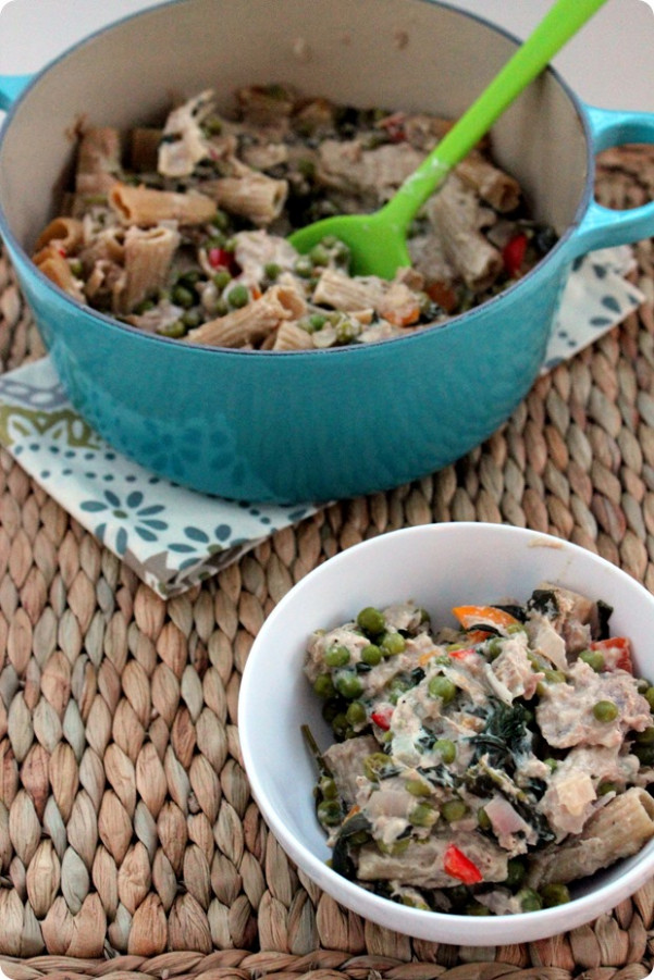 Healthy Tuna Noodle Casserole Recipe - fANNEtastic food ...