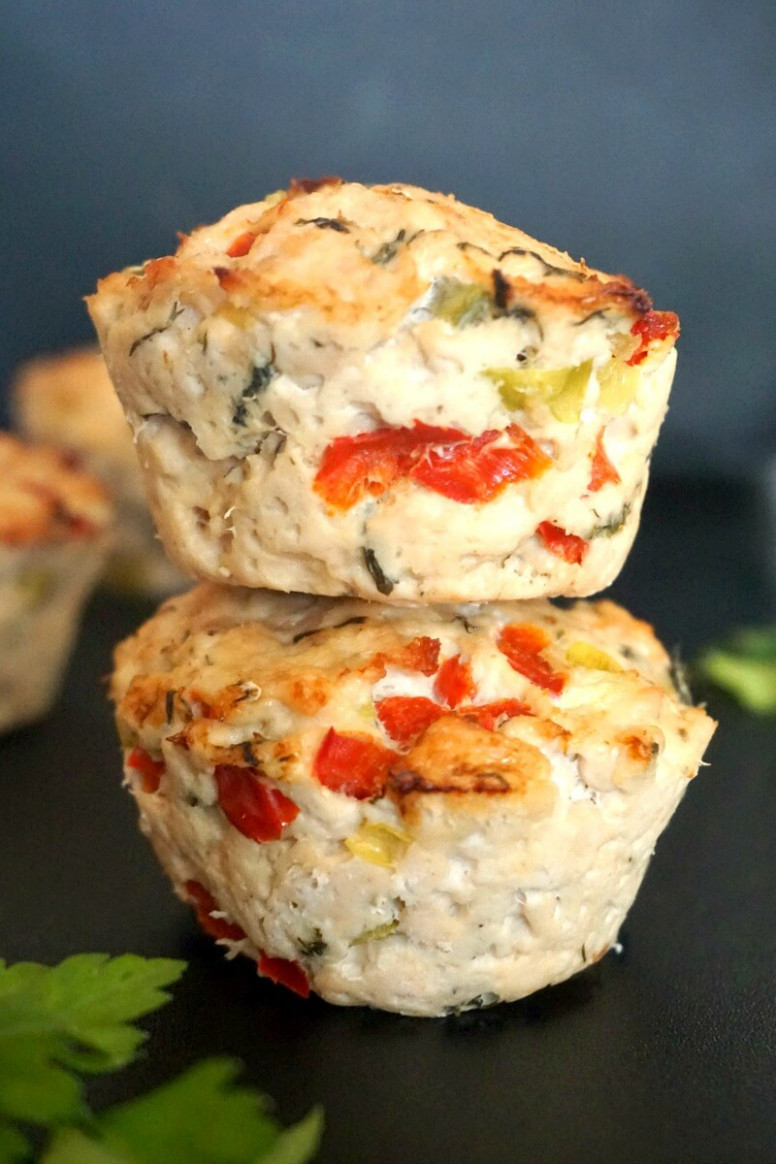 Healthy Turkey Meatloaf Muffins with Veggies - My Gorgeous ...