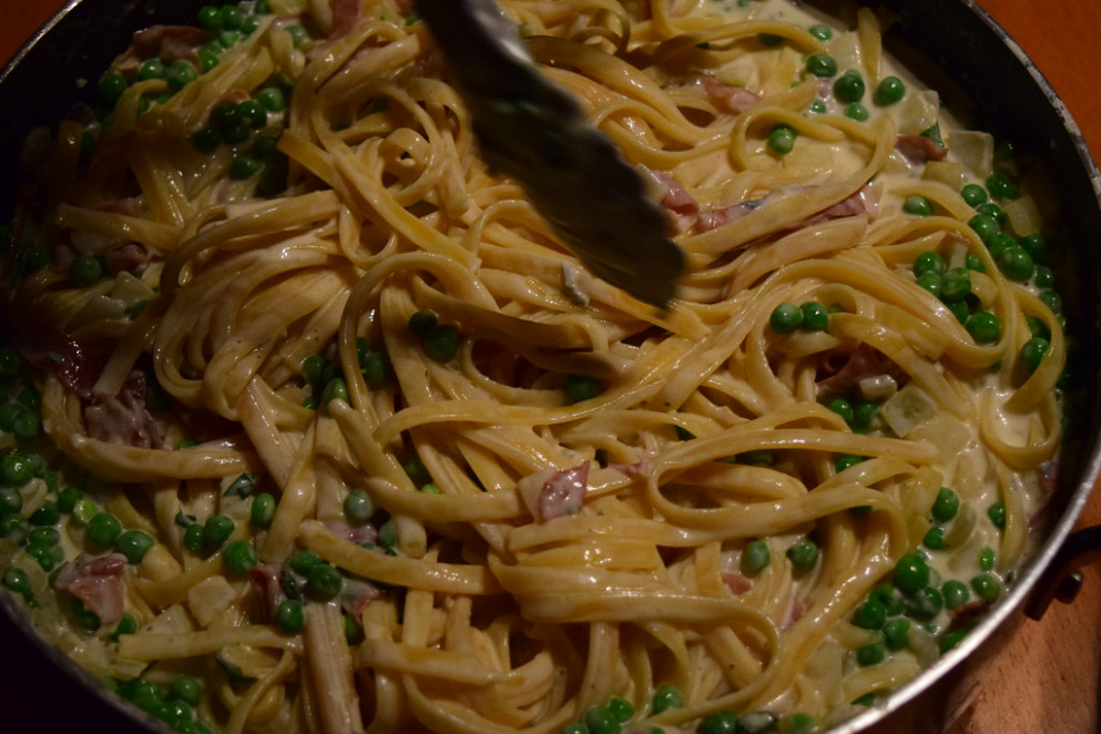 Heart Attack Pasta: Ellen Channels Ina Garten